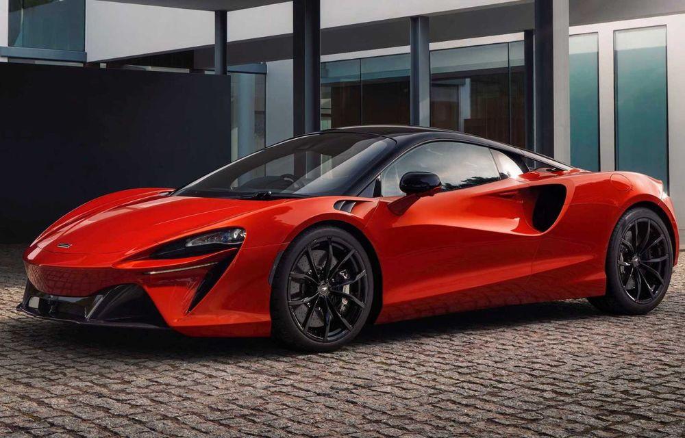 McLaren Artura: cel mai economic model din istoria englezilor vine cu motor hibrid și 671 de cai putere - Poza 30