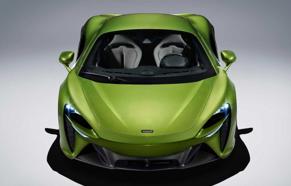 McLaren Artura: cel mai economic model din istoria englezilor vine cu motor hibrid și 671 de cai putere - Poza 15