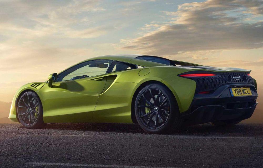 McLaren Artura: cel mai economic model din istoria englezilor vine cu motor hibrid și 671 de cai putere - Poza 9