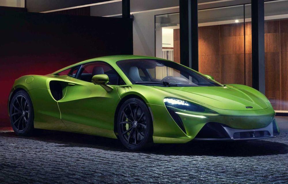 McLaren Artura: cel mai economic model din istoria englezilor vine cu motor hibrid și 671 de cai putere - Poza 2