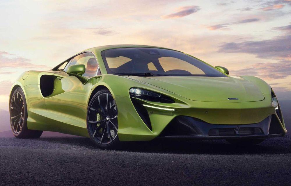 McLaren Artura: cel mai economic model din istoria englezilor vine cu motor hibrid și 671 de cai putere - Poza 8