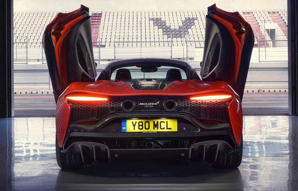 McLaren Artura: cel mai economic model din istoria englezilor vine cu motor hibrid și 671 de cai putere - Poza 31