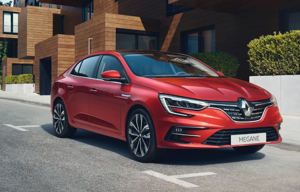 Prețuri Renault Megane Sedan facelift în România: cea mai accesibilă versiune costă 16.800 de euro - Poza 1