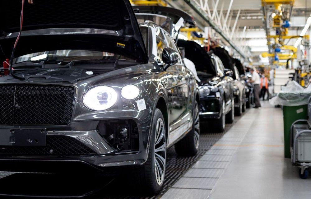 """Bentley și-a mărit vânzările cu 50% în ianuarie: """"Cele mai multe comenzi au venit din China"""" - Poza 1"""
