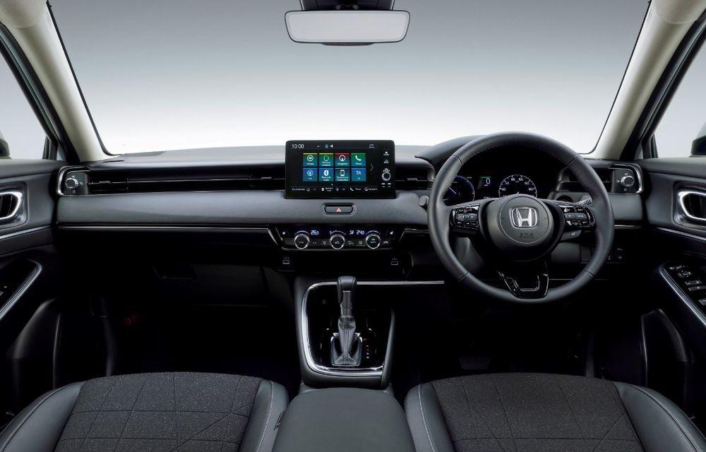 Noua generație Honda HR-V: micul SUV este disponibil doar cu un motor hibrid - Poza 2