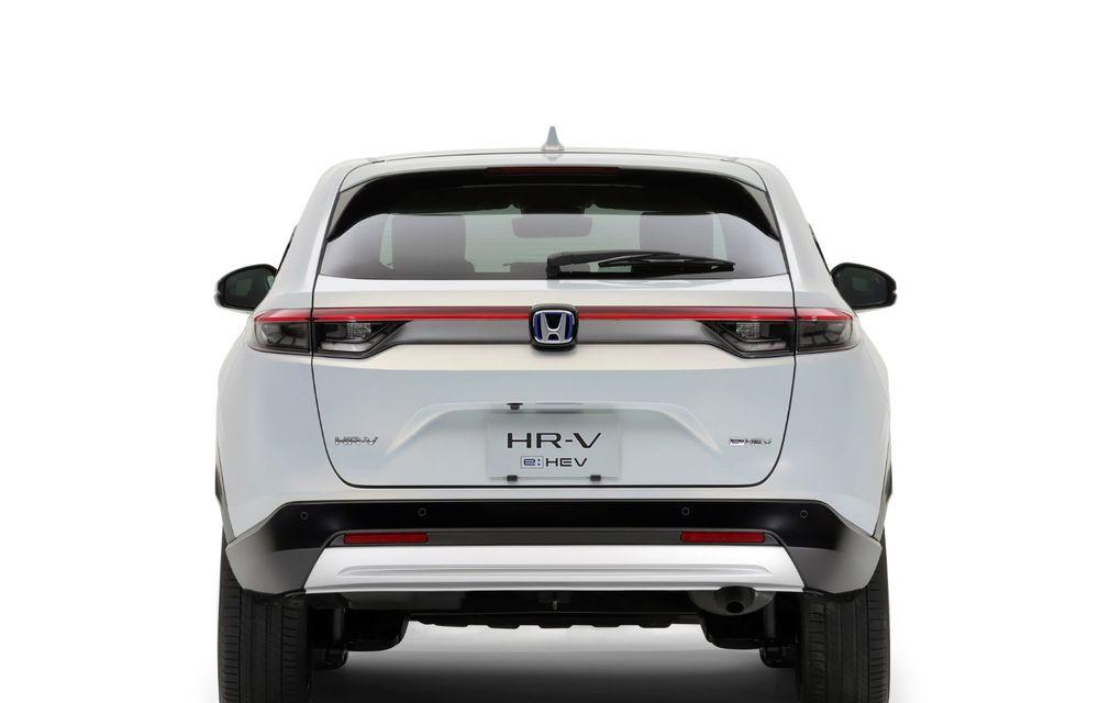 Noua generație Honda HR-V: micul SUV este disponibil doar cu un motor hibrid - Poza 10
