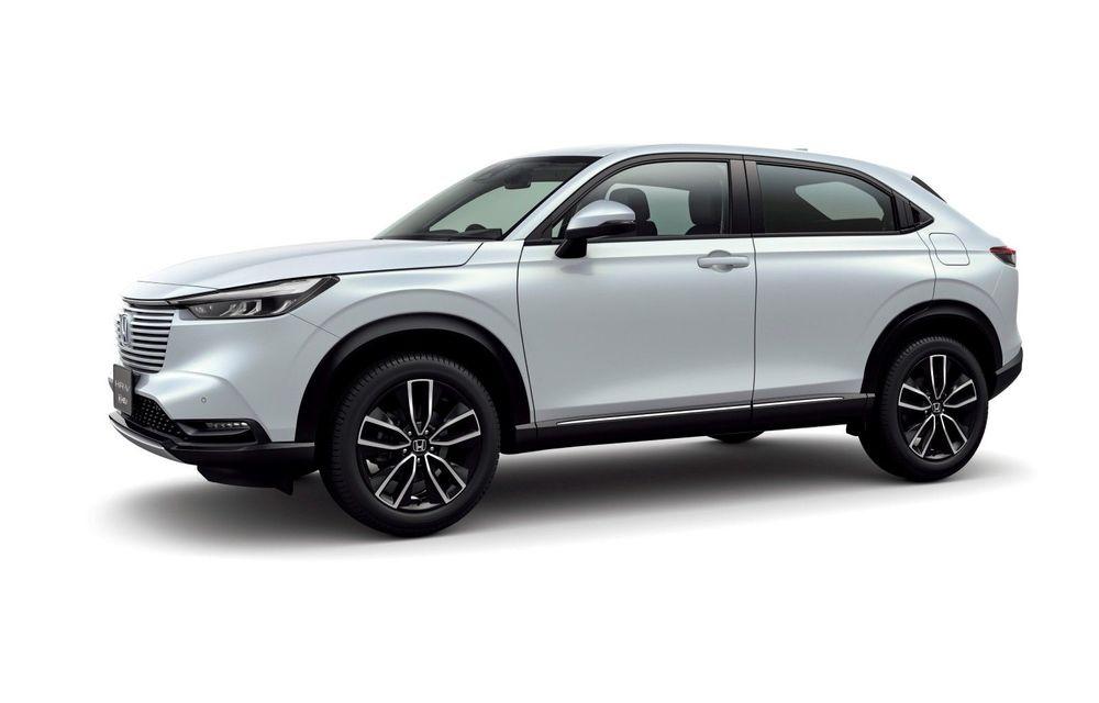 Noua generație Honda HR-V: micul SUV este disponibil doar cu un motor hibrid - Poza 1