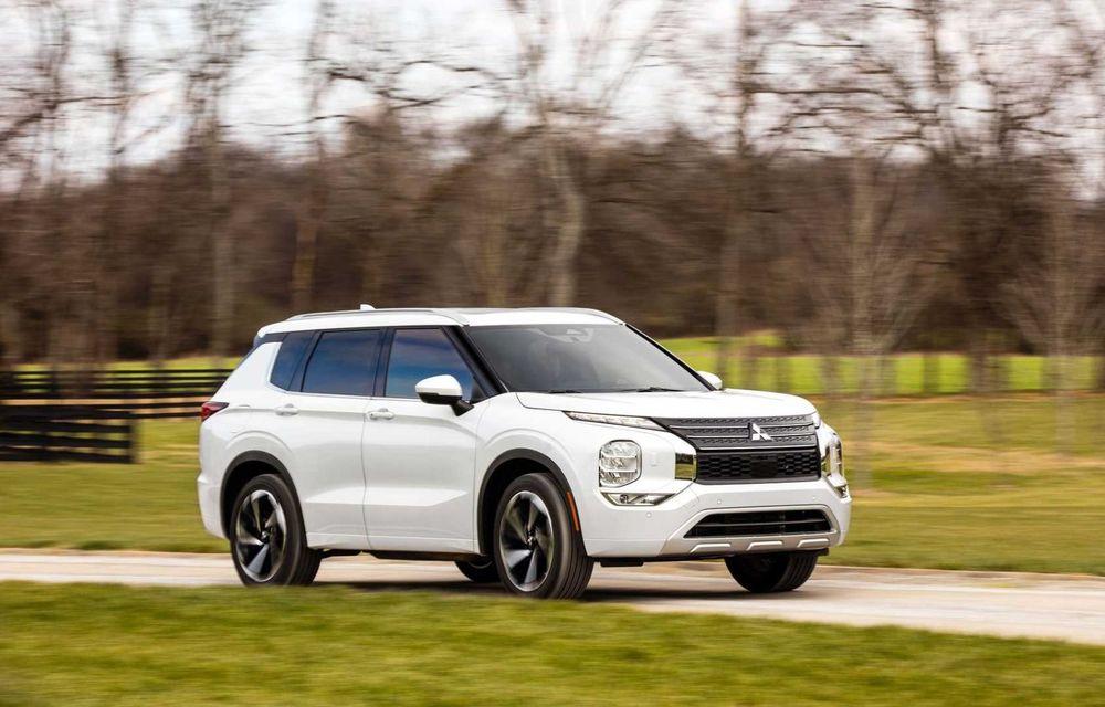 Mitsubishi a lansat noul Outlander în SUA: design exterior modern și configurație cu 7 locuri - Poza 34