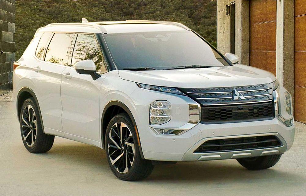 Mitsubishi a lansat noul Outlander în SUA: design exterior modern și configurație cu 7 locuri - Poza 12