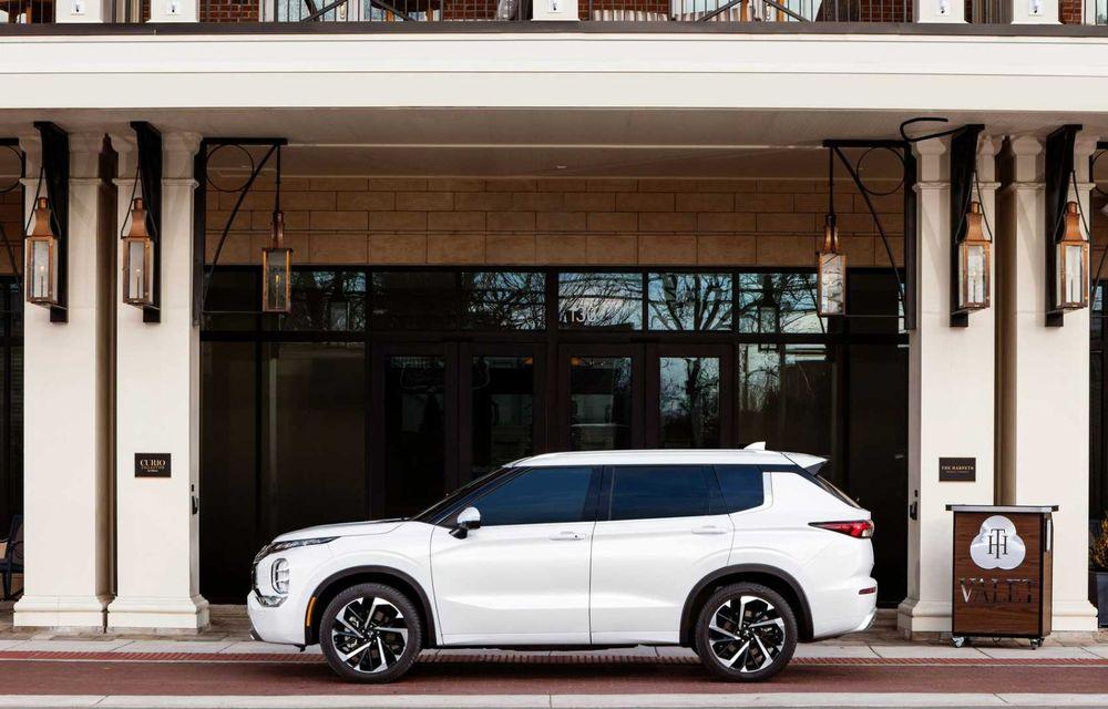 Mitsubishi a lansat noul Outlander în SUA: design exterior modern și configurație cu 7 locuri - Poza 33