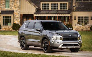 Mitsubishi a lansat noul Outlander în SUA: design exterior modern și configurație cu 7 locuri