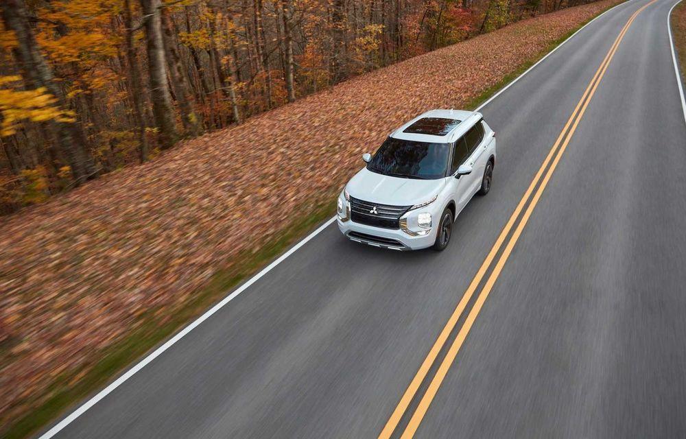 Mitsubishi a lansat noul Outlander în SUA: design exterior modern și configurație cu 7 locuri - Poza 8