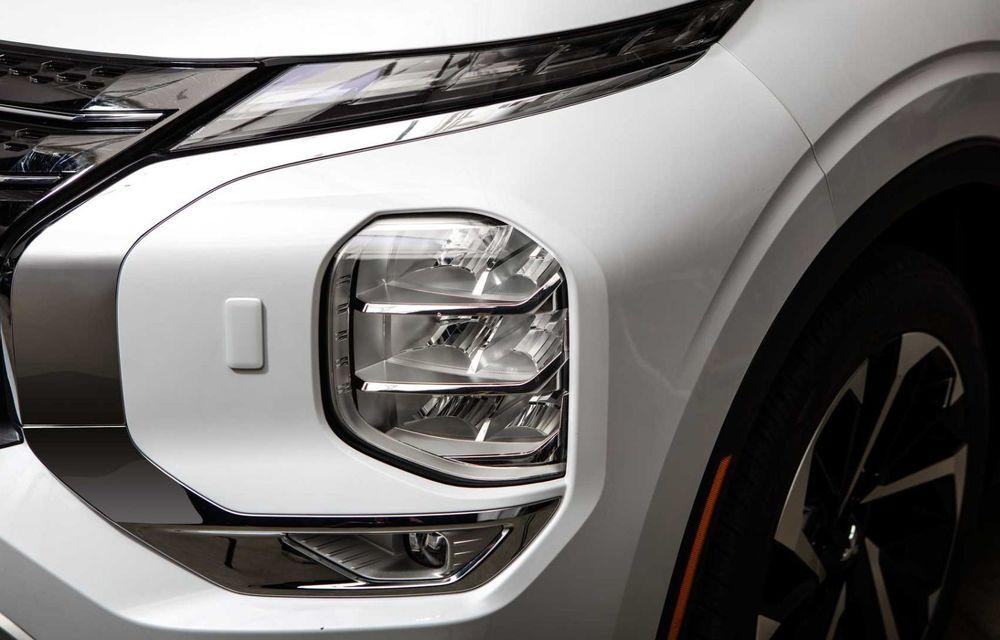 Mitsubishi a lansat noul Outlander în SUA: design exterior modern și configurație cu 7 locuri - Poza 13