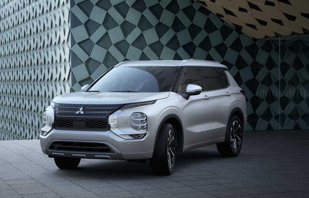 Mitsubishi a lansat noul Outlander în SUA: design exterior modern și configurație cu 7 locuri - Poza 6