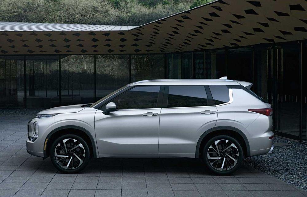 Mitsubishi a lansat noul Outlander în SUA: design exterior modern și configurație cu 7 locuri - Poza 5