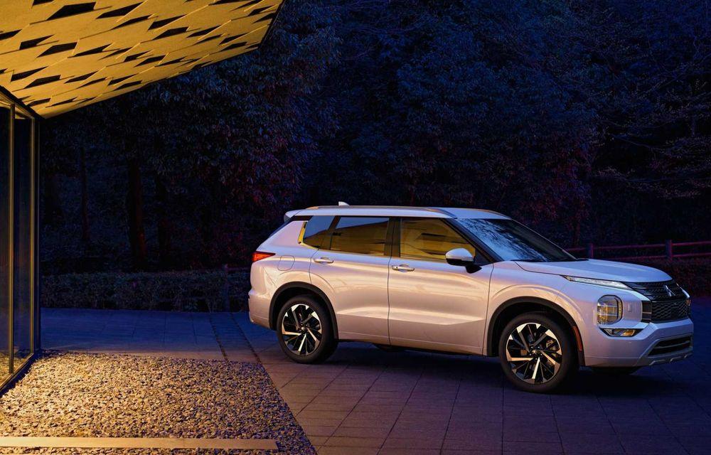 Mitsubishi a lansat noul Outlander în SUA: design exterior modern și configurație cu 7 locuri - Poza 7