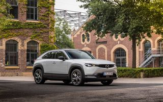 Mazda recheamă în service 12.000 de exemplare ale electricului MX-30, comercializate în Europa