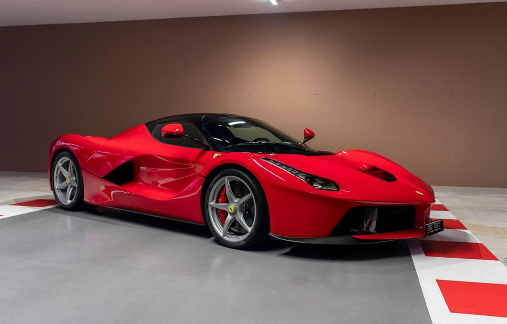 Sebastian Vettel scoate la vânzare 8 mașini din propria colecție. Lista include LaFerrari, Enzo sau F50 - Poza 2