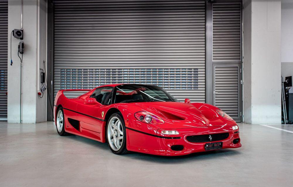 Sebastian Vettel scoate la vânzare 8 mașini din propria colecție. Lista include LaFerrari, Enzo sau F50 - Poza 1