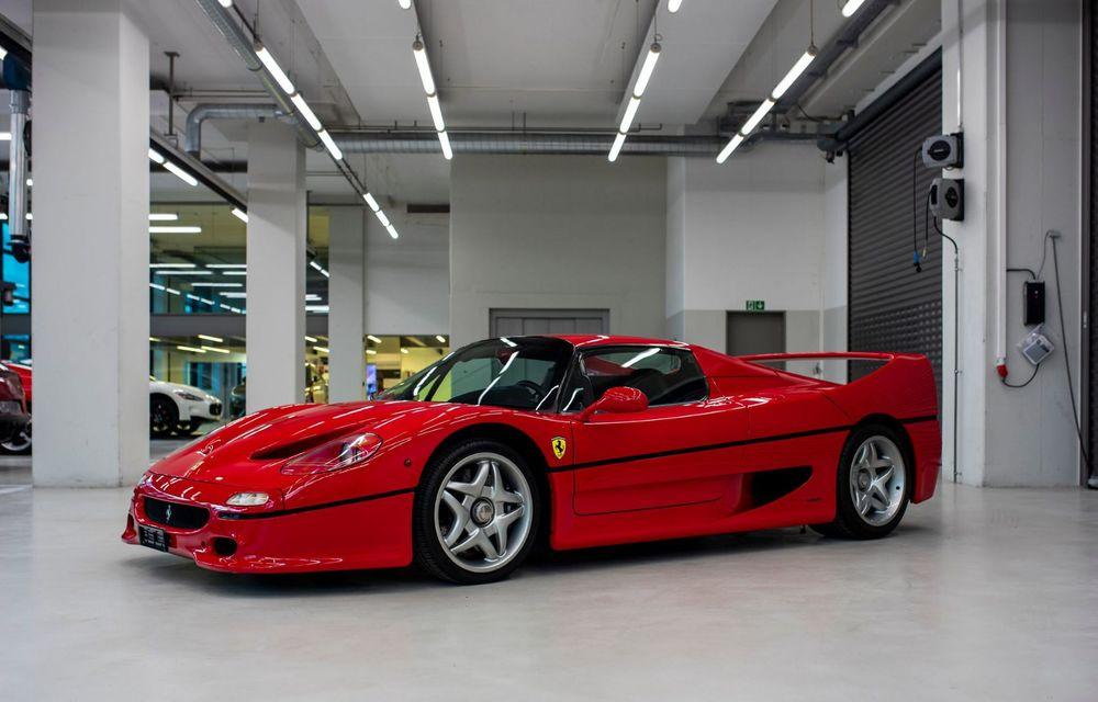 Sebastian Vettel scoate la vânzare 8 mașini din propria colecție. Lista include LaFerrari, Enzo sau F50 - Poza 8