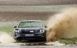 Teaser nou pentru Porsche Taycan Cross Turismo: va avea mod de rulare special pentru off-road