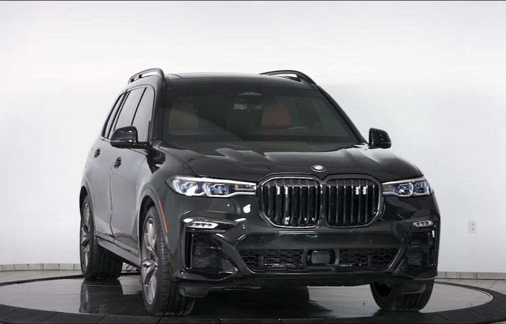 El este primul BMW X7 blindat din lume. Rezistă chiar și la explozia a două grenade detonate simultan - Poza 1