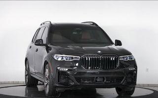 El este primul BMW X7 blindat din lume. Rezistă chiar și la explozia a două grenade detonate simultan