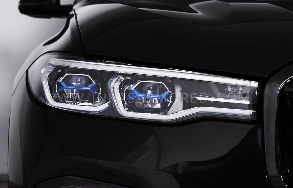 El este primul BMW X7 blindat din lume. Rezistă chiar și la explozia a două grenade detonate simultan - Poza 10