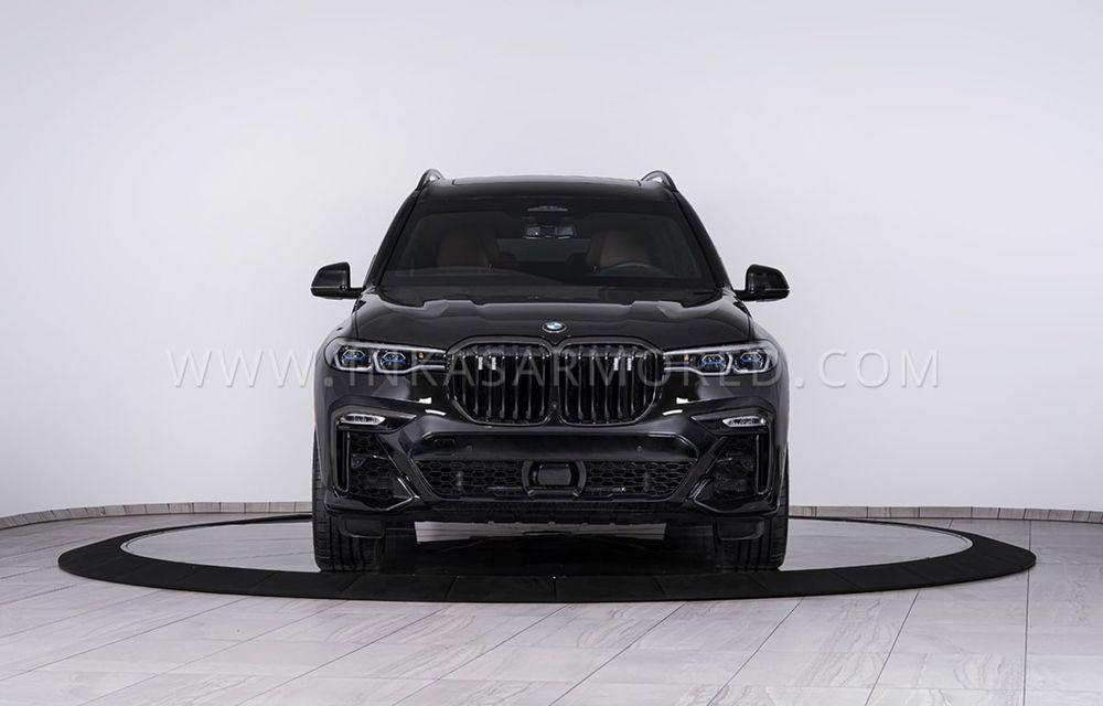 El este primul BMW X7 blindat din lume. Rezistă chiar și la explozia a două grenade detonate simultan - Poza 3