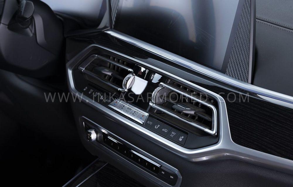 El este primul BMW X7 blindat din lume. Rezistă chiar și la explozia a două grenade detonate simultan - Poza 20