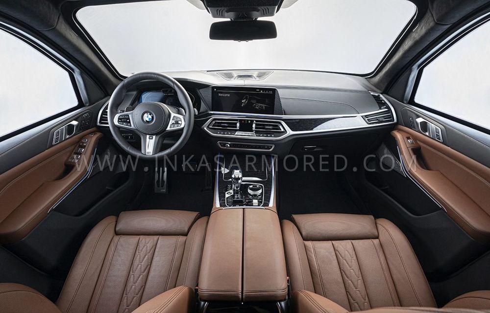 El este primul BMW X7 blindat din lume. Rezistă chiar și la explozia a două grenade detonate simultan - Poza 12