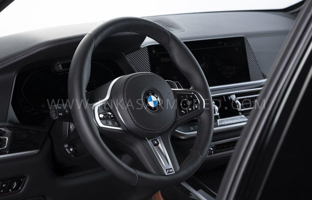 El este primul BMW X7 blindat din lume. Rezistă chiar și la explozia a două grenade detonate simultan - Poza 13