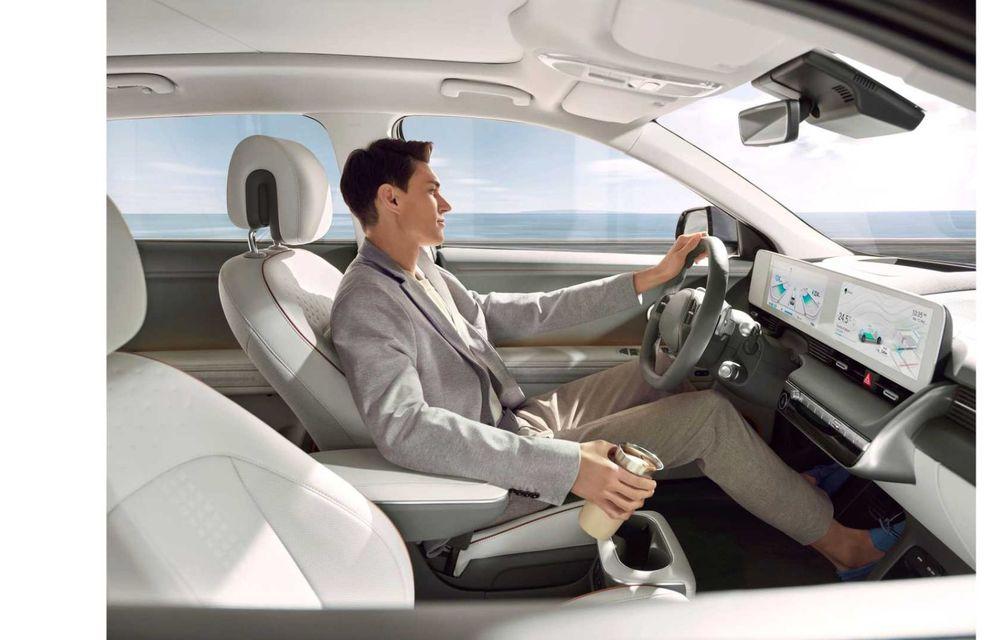 Hyundai a lansat noul Ioniq 5: SUV compact cu până la 306 CP și autonomie de 480 kilometri - Poza 21
