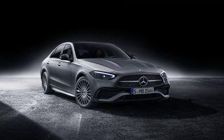 Acesta este noul Mercedes-Benz Clasa C: design apropiat de Clasa S și motorizări electrificate