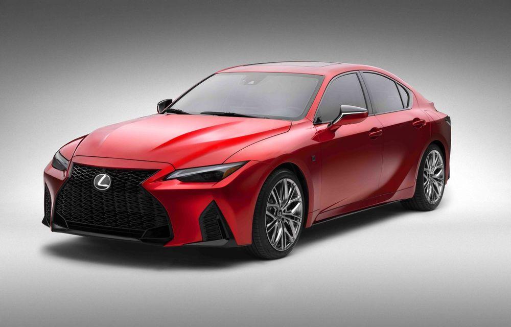 Lexus prezintă noul IS 500 F Sport Performance: V8 de 5.0 litri și 479 de cai putere - Poza 6