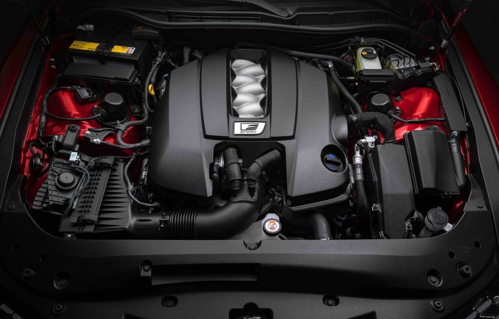 Lexus prezintă noul IS 500 F Sport Performance: V8 de 5.0 litri și 479 de cai putere - Poza 14