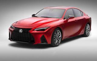 Lexus prezintă noul IS 500 F Sport Performance: V8 de 5.0 litri și 479 de cai putere