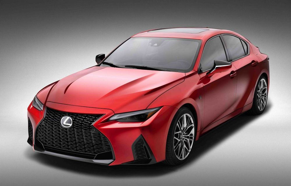 Lexus prezintă noul IS 500 F Sport Performance: V8 de 5.0 litri și 479 de cai putere - Poza 7