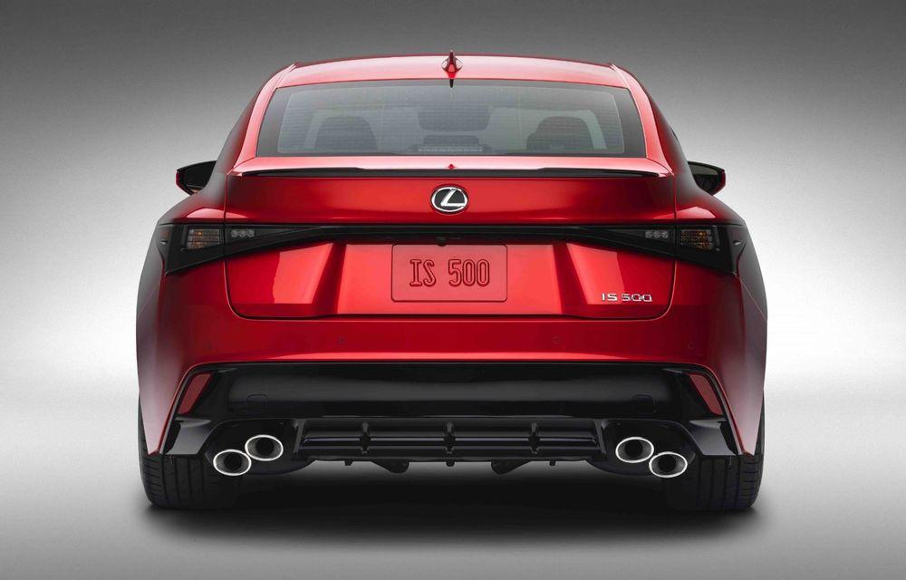 Lexus prezintă noul IS 500 F Sport Performance: V8 de 5.0 litri și 479 de cai putere - Poza 11