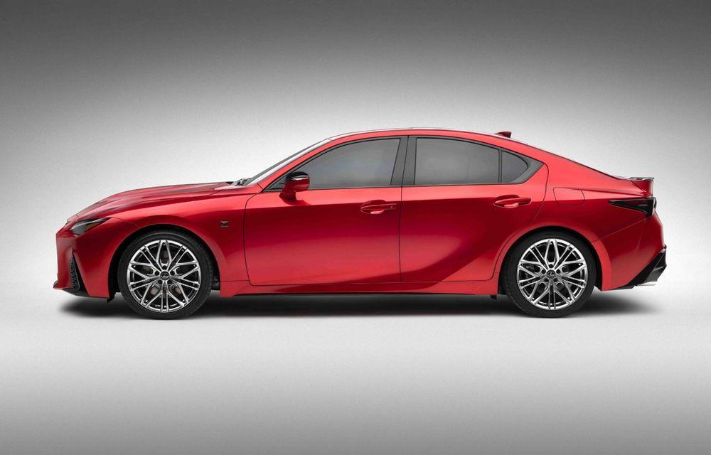 Lexus prezintă noul IS 500 F Sport Performance: V8 de 5.0 litri și 479 de cai putere - Poza 9