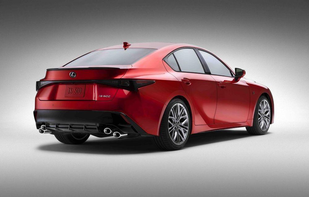 Lexus prezintă noul IS 500 F Sport Performance: V8 de 5.0 litri și 479 de cai putere - Poza 10