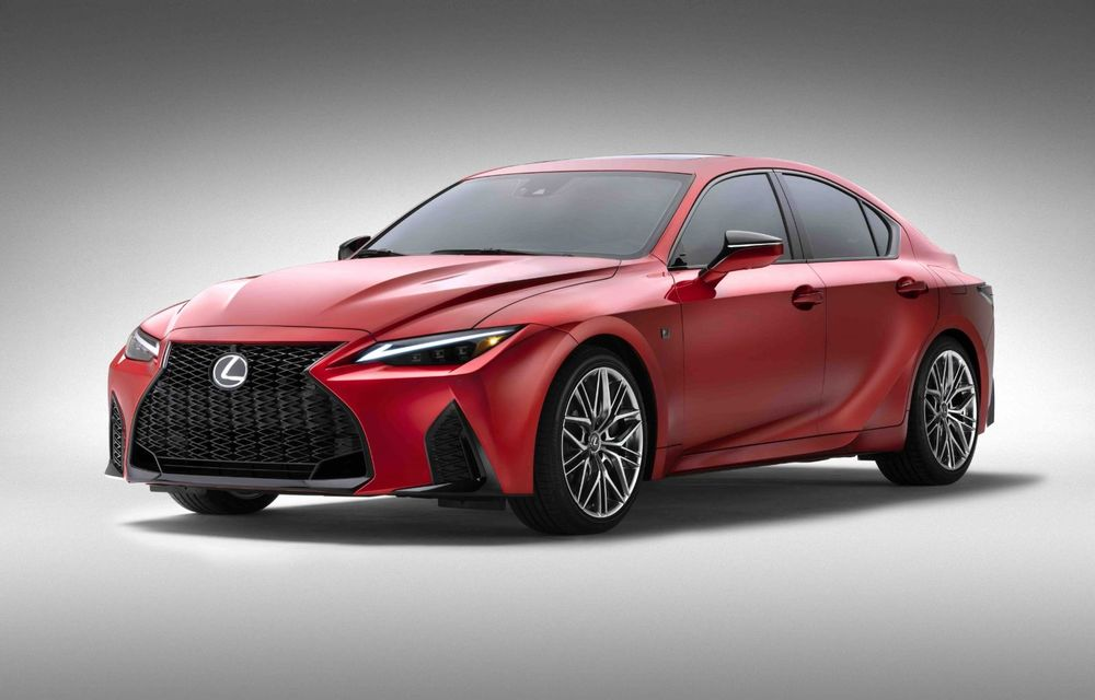 Lexus prezintă noul IS 500 F Sport Performance: V8 de 5.0 litri și 479 de cai putere - Poza 5