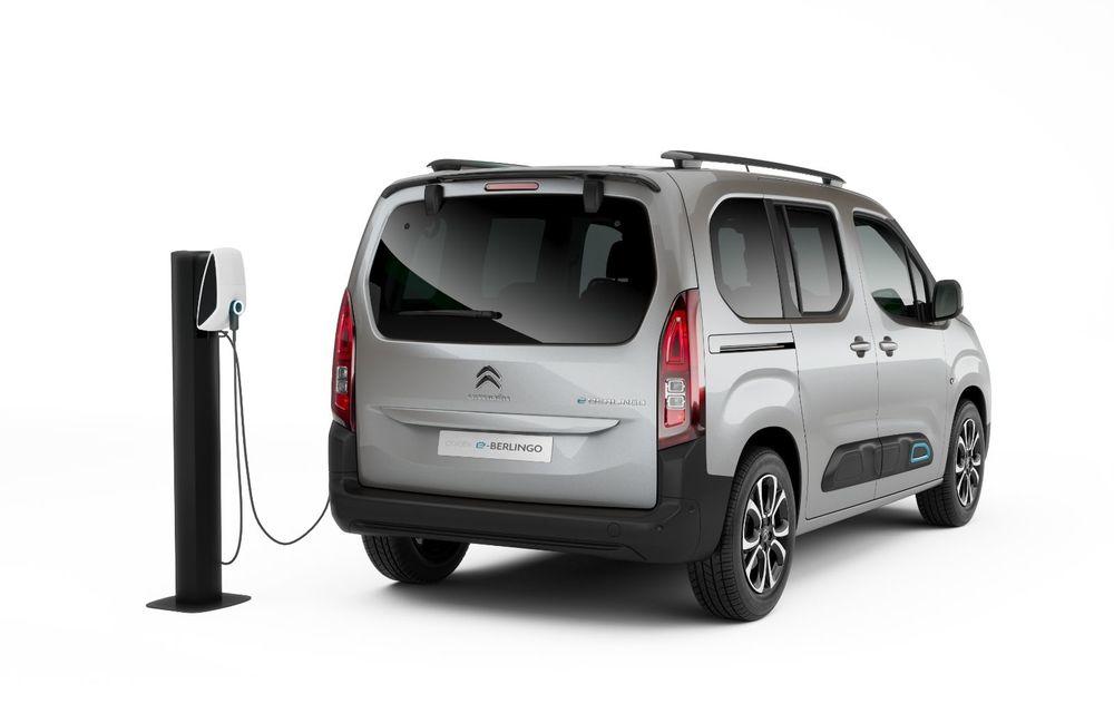 Citroen prezintă noul e-Berlingo: motor electric de 136 de cai putere și autonomie de până la 280 de kilometri - Poza 8