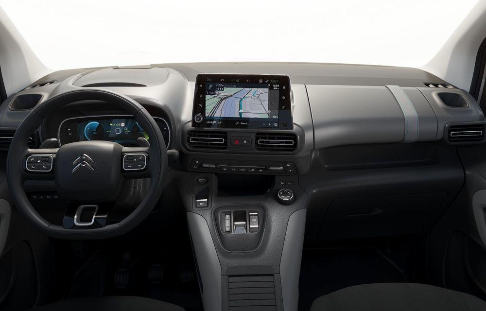 Citroen prezintă noul e-Berlingo: motor electric de 136 de cai putere și autonomie de până la 280 de kilometri - Poza 9