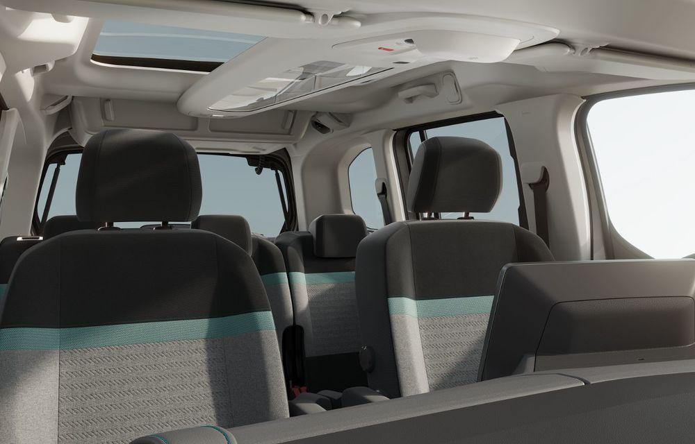 Citroen prezintă noul e-Berlingo: motor electric de 136 de cai putere și autonomie de până la 280 de kilometri - Poza 10