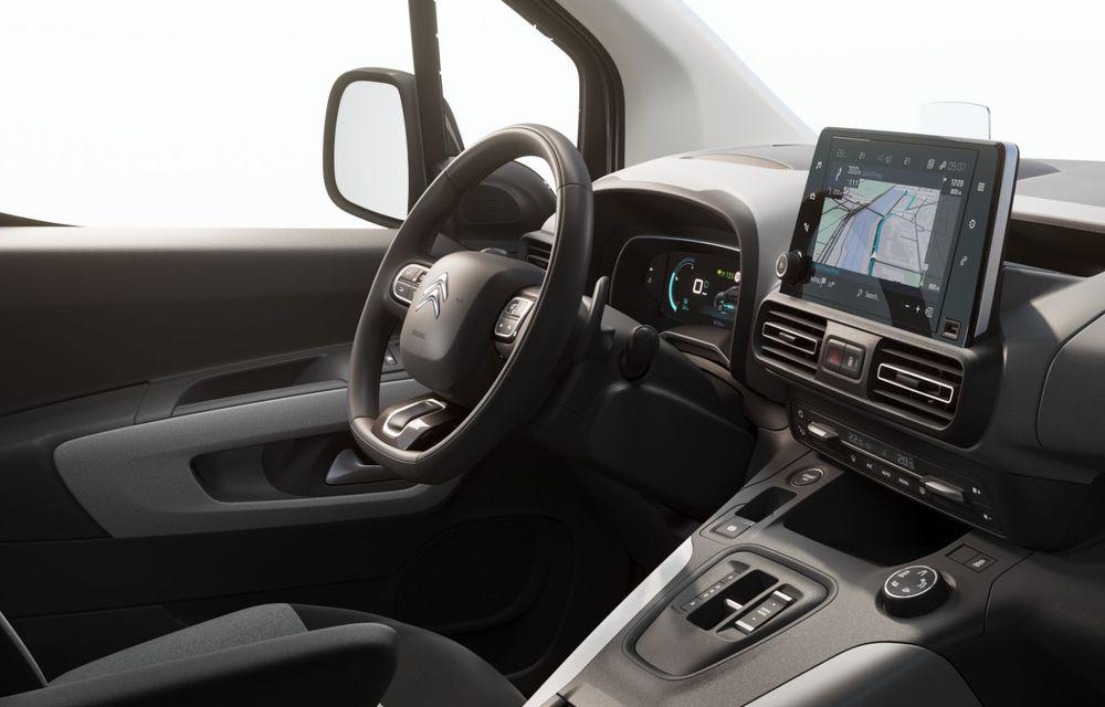 Citroen prezintă noul e-Berlingo: motor electric de 136 de cai putere și autonomie de până la 280 de kilometri - Poza 5