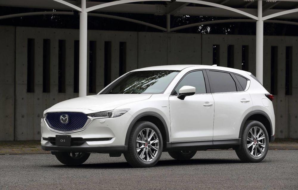 Îmbunătățiri pentru Mazda CX-5: display central mai mare și o nouă ediție specială - Poza 1
