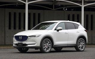Îmbunătățiri pentru Mazda CX-5: display central mai mare și o nouă ediție specială