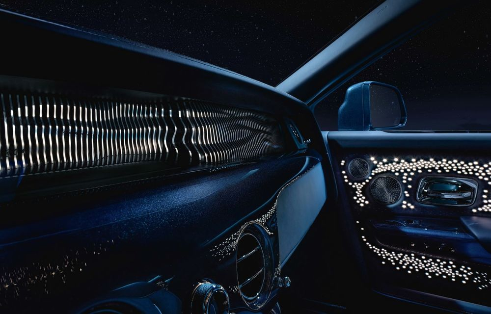 Rolls-Royce Phantom Tempus Collection, limuzină cu un interior inspirat de astronomie - Poza 4