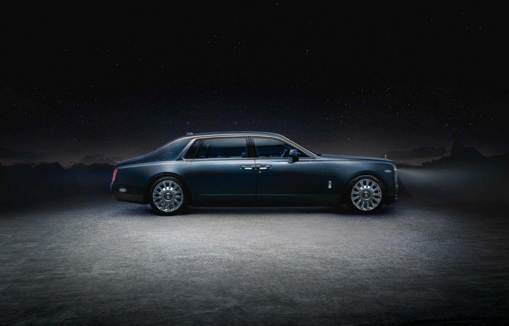 Rolls-Royce Phantom Tempus Collection, limuzină cu un interior inspirat de astronomie - Poza 6